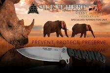 TOPS Silent Hero Knife Fixed Blade Hunting Survival Camping HERO-01 New