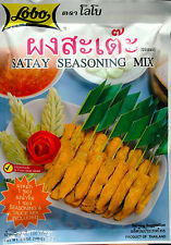 LOBO SATAY SEASONING MIX 100g PACKS DELICIOUS AUTHENTIC THAI CUISINE INT POSTAGE