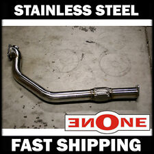 """86-92 Toyota MK3 Supra 7MGTE 3"""" SS Stainless Steel Turbo Back Downpipe With Flex"""