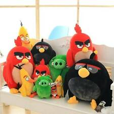 4 Styles Angry Birds Yellow Red Black Soft Plush Toys Stuffed Animal Dolls