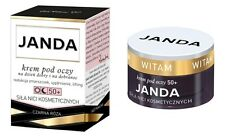 Janda: Power of Thread Lift Day & Night Eye Cream Anti-Wrinkle Lifting 50+ 15ml