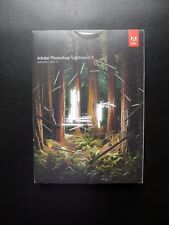 Adobe Photoshop Lightroom 5 Boxed CD Windows/PC/MAC Full UK Retail 65215175 NEW