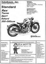 kdk.. Kabelbaum Standard Rex 350ccm, 500ccm, Sport, Touren, Rekord