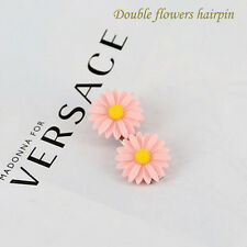 10X Small Daisy Jewelry Flower Hairpin Cloth Hat Mobile DIY Handmade Accessory