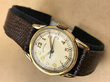 Hamilton Watch Co.10k Gold Filled Vintage Wristwatch 987S, Art Deco ca.1948