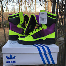 NEW US Size 9.5  Adidas Jeremy Scott JS Tall Boy SUMMER M29008 VERY RARE!!!