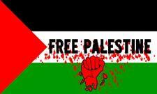 FREE PALESTINE FLAG 3X5' QUALITY BANNER 90CM X 150CM