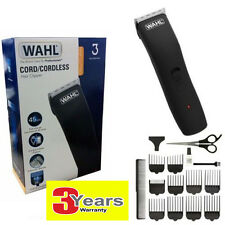 Wahl Mens Corded & Cordless Rechargeable Home Pro Hair Clipper Shaver - 9655-417