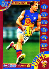 2013 TeamCoach 3D Best & Fairest Joel Patful Brisbane Lions Team Coach