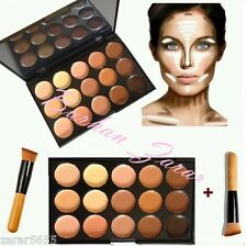 new 15 Color Concealer with Brush Face cream Makeup Contour, Palette #2