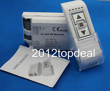 AC90-240V 0-10V Dimmer w/ 3Keys RF Wireless Remote DM015
