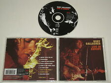 RORY GALLAGHER/LIVE IN EUROPE(CAPO 103) CD ALBUM