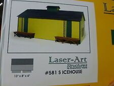 "Branchline S Scale #581 Icehouse 13"" x 8"" x 6"" (Kit form)"
