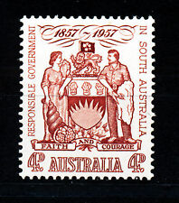 AUSTRALIA 1957 CENTENARY OF RESPONSIBLE GOVERNMENT IN SOUTH AUSTRALIA SG296 MNH