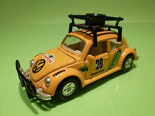 WELLY 9049 VW VOLKSWAGEN KAFER BEETLE - CHAMPIONS RACING - 1:32? - RARE SELTEN