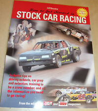 How to Get Started in Stock Car Racing GUIDE MANUAL DRIVE TIPS CAR PREP HP BOOKS