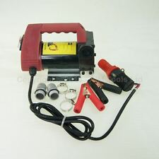 DC 24V Diesel Self-priming Bio Oil Transfer Pump 40L/Min 175W UK VAT