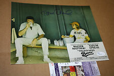 "TATUM O'NEAL Signed 8x10 Autograph Photo ""BAD NEWS BEARS"" W/MATTHAU DUGOUT JSA"