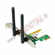 SCHEDA RETE TENDA W322E WIFI 300M 2.4 GHz WIRELESS PCI EXPRESS INTERNA COMPUTER