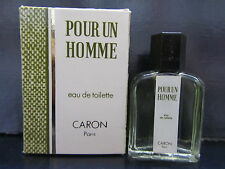 Pour Un Homme ( Original Version )  by Caron Men 0.15 oz Eau de Toilette Mini