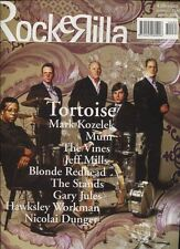 ROCKERILLA 284/2004 TORTOISE MARK KOZELEK MUM THE VINES GARY JULES JEFF MILLS