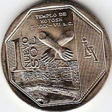 "Peru 1 Nuevo Sol 2013 ""Wealth and Pride of Peru"" Templo de Kotosh Uncirculated"