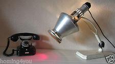 graziöse Original Hanau Sollux Quarzlampe Schreibtisch Lampe '40er J Farbfilter