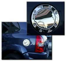 Mirror Polished Stainless Steel Gas Fuel Door Cover fits Hyundai Tucson 04-08
