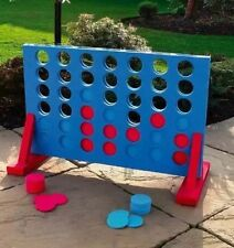 GIANT CONNECT 4 IN A ROW GARDEN OUTDOOR GAME KIDS ADULTS GREAT FAMILY FUN