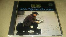 Phil Ochs All The News That's Fit To Sing Japan AMCY 2992