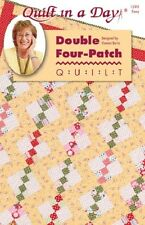 Double Four-Patch Quilt pattern by Quilt in a Day, Eleanor Burns, 1295 EASY