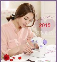 New Mains Battery Electric/ Powered Portable Handheld Mini Stitch Sewing Machine