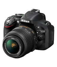 Nikon D5200 with 18-55mm Lens + 55-200mm Open Box Manufacturer warranty Lowest