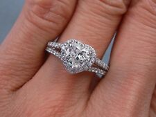 1.04 CTW HEART SHAPE DIAMOND ENGAGEMENT RING G VS2