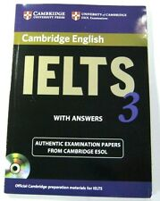 OFFICIAL CAMBRIDGE IELTS 3 ESOL STUDENT'S BOOK WITH ANSWERS AND MP 3 C D