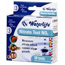WATERLIFE NITRATE FISH TANK WATER TEST KIT NO3 50 TESTS