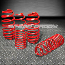 RACING SUSPENSION RED LOWERING SPRINGS FITS 10-13 JDM NISSAN MARCH/MICRA K13