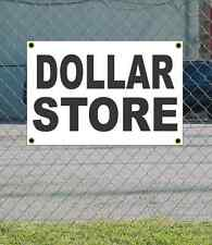 2x3 DOLLAR STORE Black & White Banner Sign NEW Discount Size & Price FREE SHIP