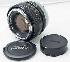 Canon FD SSC 55mm  f1.2 fast manual focus lens for Portraiture. Great Bokeh !!!