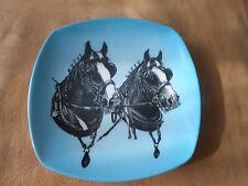 PRAESIDIUM ORNAMIN vintage 'SHIRE HORSES' TRINKET DISH 1960's