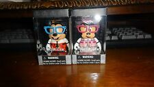 MICKEY MOUSE AND MINNIE MOUSE NERDS VINYLMATION DISNEY NIB