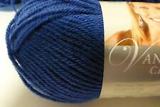 6 skeins Beautiful Colonial Blue yarn by Lion Brand Color #109 Vanna's Choice