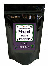 BULK ORGANIC FREEZE DRIED PURE MAQUI BERRY POWDER WHOLESALE 16 OZ ONE POUND 1 LB