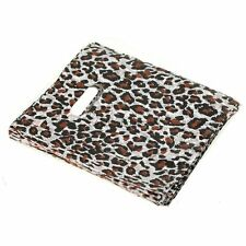 100pcs Leopard  Point Plastic Jewelry Gift bag Shopping bags 20X15cm