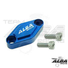 Yamaha YFZ 450 YFZ450  Parking Brake Blockoff Plate   Block off Plate  Blue