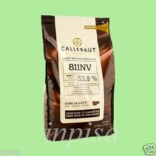 "CALLEBAUT DARK CHOCOLATE 5.5# ""811NV"" 53.8% COCOA FINEST BELGIAN CHOCOLATE"