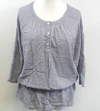 Mat De Misaine 'Cadix' Blouse Blue Size Fr 46 / UK 18 rrp £85 box7320 G