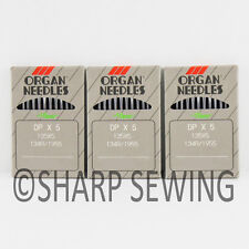 30  ORGAN 135X7 SIZE# 14 / 90 LOCKSTITCH NEEDLES 135X5 DPX7 134R