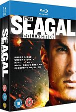The Steven Seagal Collection Blu Ray 5x Films Action Movie Set Region Free New