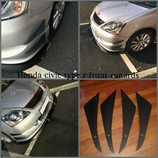 Honda civic type r/ep3/ep2/honda type s/honda civic diffuseur/pare-chocs nageoires/canards